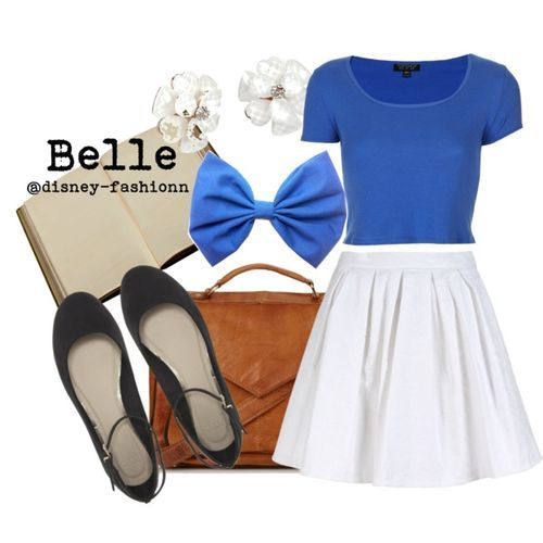 Disney inspired outfit- Belle                                                                                                                                                                                 More