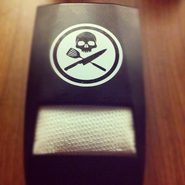 #skull #rocknrollburger - @zutra- #webstagram