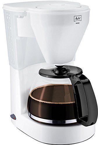 Melitta Easy, Cafetière filtre, avec verseuse en verre, système anti-goutte, support filtre amovible: Réveillez-vous avec une tasse de café…