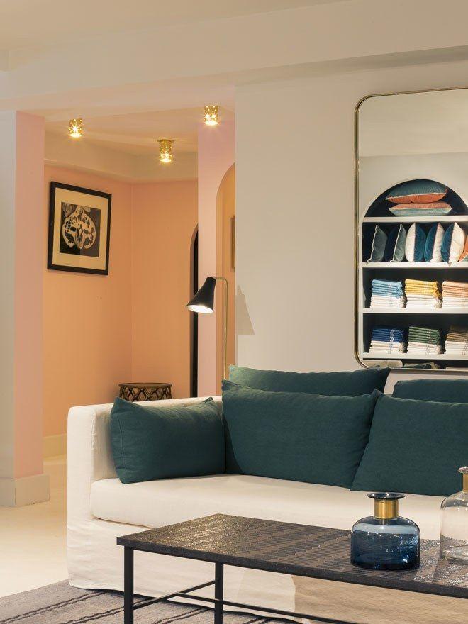 Visite priv e la nouvelle maison parisienne de sarah lavoine maison sarah lavoine sarah - Maison parisienne ...