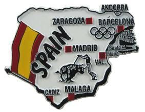 MGI Companies, Inc. - Spain - International Country Shaped Map Magnets, $2.89 (http://www.internationalgiftitems.com/spain-magnetic-map)