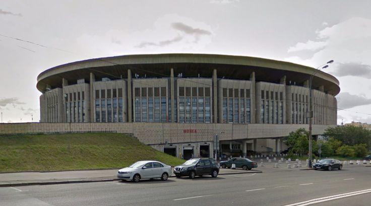 Олимпийский бассейн (Olimpiisky Indoor Arena) - 1980 - #architecture #googlestreetview #googlemaps #googlestreet #russia #moscow #brutalism #modernism