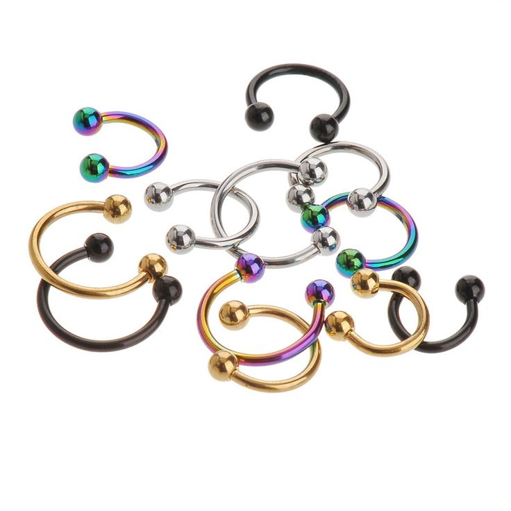 1pack for 4 colors  Hot  stainless steel Nostril Nose Ring circular piercing ball Horseshoe Rings CBR ring earring CC059♦️ B E S T Online Marketplace - SaleVenue ♦️ http://www.salevenue.co.uk/products/1pack-for-4-colors-hot-stainless-steel-nostril-nose-ring-circular-piercing-ball-horseshoe-rings-cbr-ring-earring-cc059/ US $0.74