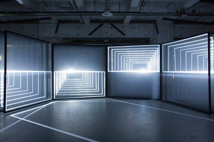 <p>Daydream is an audiovisual installation by Nanotak studio; Noemi Schipfer & Takami Nakamoto, which ended last month in Eindhoven, Netherlands. Generating space distortions, this light sp