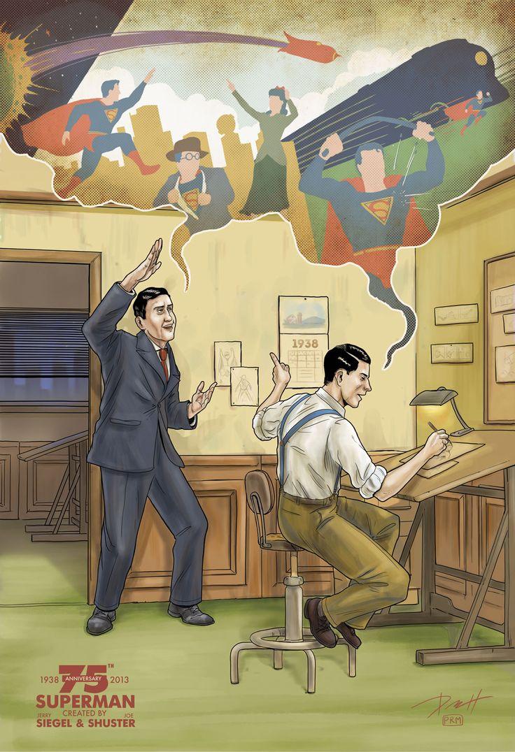 Superman 75th Anniversary by Kopetkai.deviantart.com on @deviantART