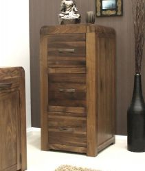 Shiro Walnut 3 Drawer Filing Cabinet http://solidwoodfurniture.co/product-details-pine-furnitures-3048-shiro-walnut-drawer-filing-cabinet.html