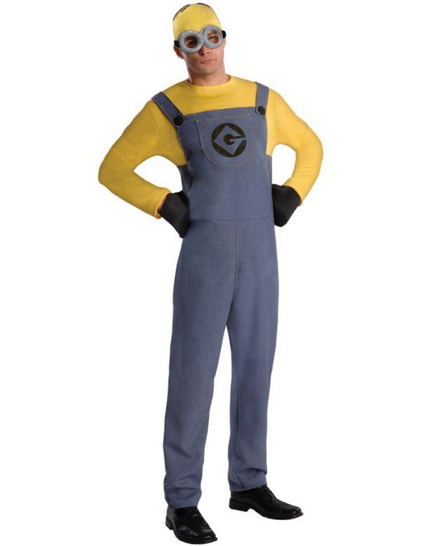 Adult Despicable Me 2 Minion Dave Costume