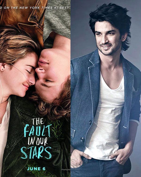 Sushant Singh Rajput to play the main lead in The Fault in Our Stars remake #FansnStars