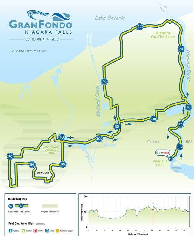 GranFondo Niagara Falls Bike Rally