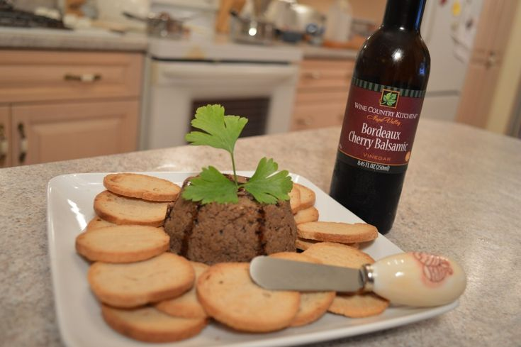 #Popular on our website this week: How to Make #NapaValley #Bordeaux #Cherry #Balsamic #ChickenLiver #Pate! #chicken #liver #appetizer #horsdoeuvres   * Subscribe to Cooking With Kimberly: http://cookingwithkimberly.com #cwk