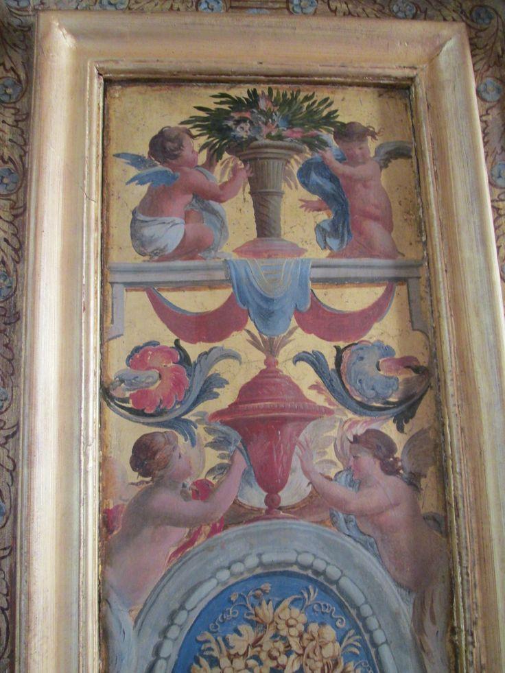 Cabinet des Femmes Fortes de Marie de Cossé-Brissac, l'Arsenal Paris IV.