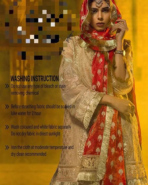 Sadia Mirza Luxury Collection (Replica)(Unstitched