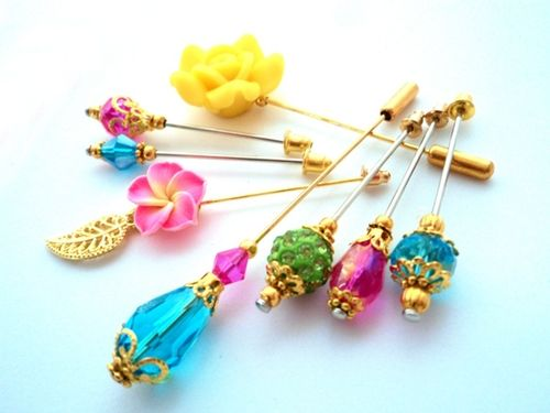 "Hijab Pin Couture - Hijab Pins Set ""Paradise"""