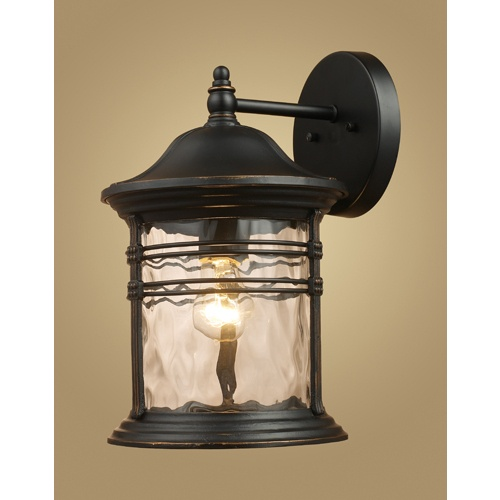 Zoomed: Westmore Lighting 1-Light Black Arm Sconce