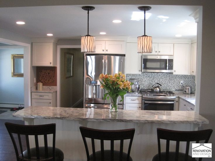 Transitional Kitchen. Kitchens With PeninsulasU Shaped KitchenKitchen  LayoutsKitchen ... Part 16