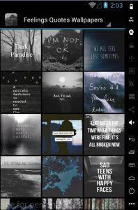 Are you looking for wallpapers and quotes that match your feelings ? Well, don't look anywhere else because we've got you covered with the best quotes and wallpapers.We all know that life is tough.It's pretty normal to feel lost and alone from time to time.  Feelings Quotes...