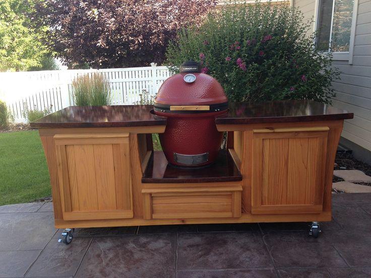 MORGAN Design Kamado Joe / Big Green Egg Table By PoshPatios.com