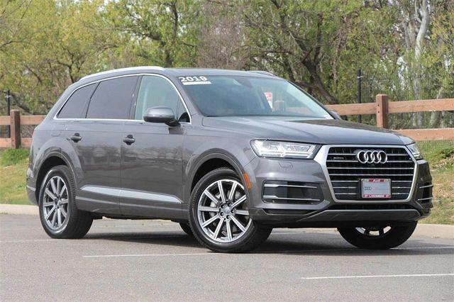 Used 2019 Audi Q7 45 Premium Plus 48 000 12 Miles Grey And Black Grey Audi Q7 Audi Cars Com