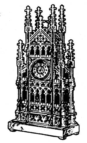 Gothic Clock - available from Hobbies, the UK's favourite online hobby store!