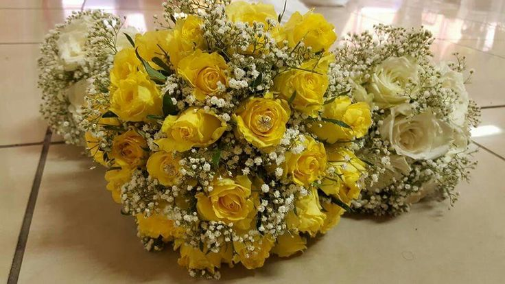 Wedding at Midrand Conference Centre Bridal bouquets
