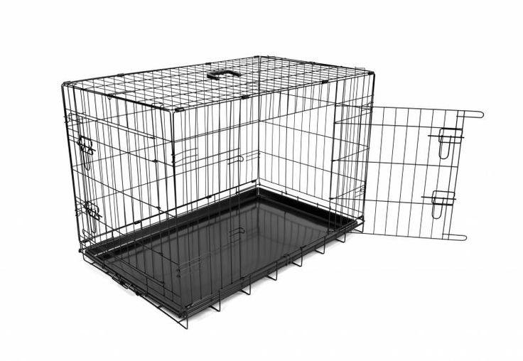 Hondenbench Zwart 62cm  Description: Deze hondenbench is perfect voor kleine hondenrassen. De bench is voorzien van 2 deurtjes en een eenvoudig te verwijderen bodembak.  Price: 39.95  Meer informatie