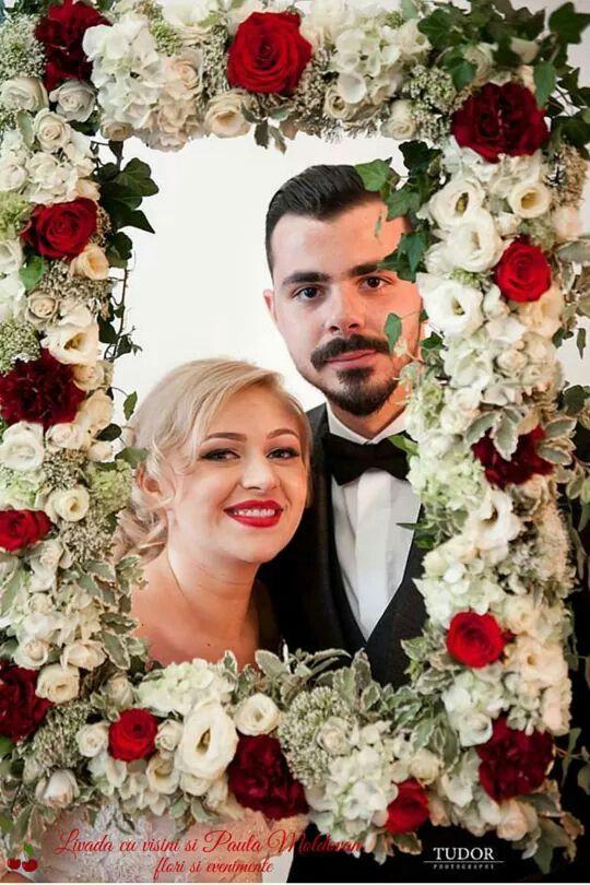 Rama foto florala #madewithjoy #by #livadacuvisini #paulamoldovan #happy #wedding #flowers