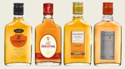 Exhibitor at #Vinexpo Asia-Pacific, Spirit France has created for its 3 Calvados brands : Calvados Père Magloire (Page officielle), Calvados Boulard and Lecompte and for its Armagnac brand a new format : the 20cl flask. A practical size, easy to carry and ideal to discover different spirits !