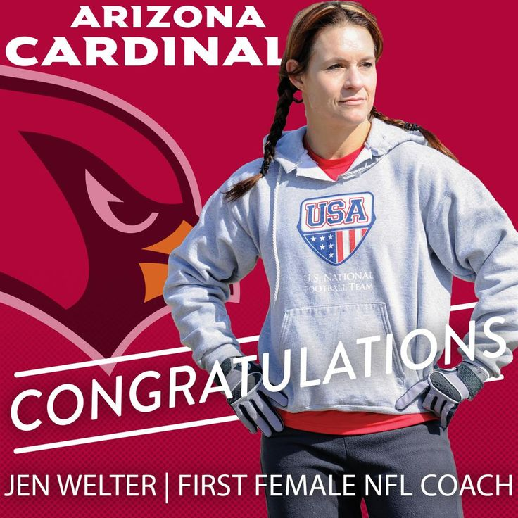 Jen Welter | First Female NFL Coach | GO GIRL <3