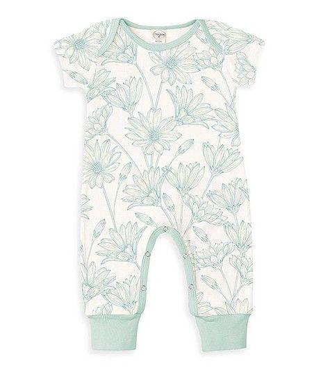 12cabd7d6 Tesa Babe Mint Daisy Patch Playsuit - Infant