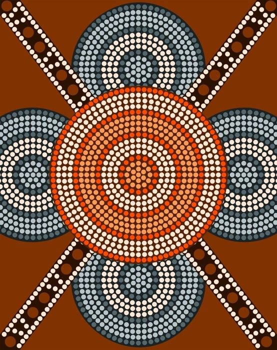 Lovely Aboriginal Art from $34.99 | www.wallartprints.com.au #AboriginalArt