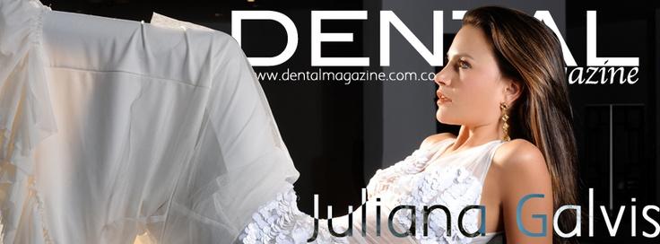 Juliana Galvis nuestra portada de Febrero Marzo  2013, si quieres leer el artículo completo visita http://dentalmagazine.com.co/articulos/articulo_portada_dental_magazine.html