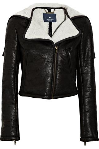 #Gryphon Faux shearling jacket