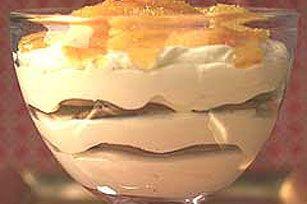 Layered Pudding & Fruit Dessert recipe