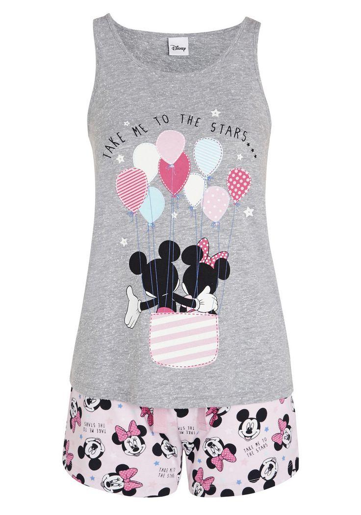 Clothing at Tesco | Disney Mickey Mouse Take Me To the Stars Shorts Pyjamas > nightwear > Nightwear & Slippers > Women