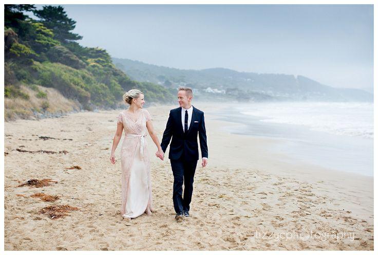 Suzi &  Simm's Mantra Lorne Wedding Photographer: Lizzy C Photography #mantra #lorne #wedding #beach #victoria