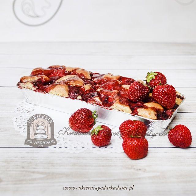 16BC Sezonowe ciasto z truskawkami. Summer Strawberry Pie.