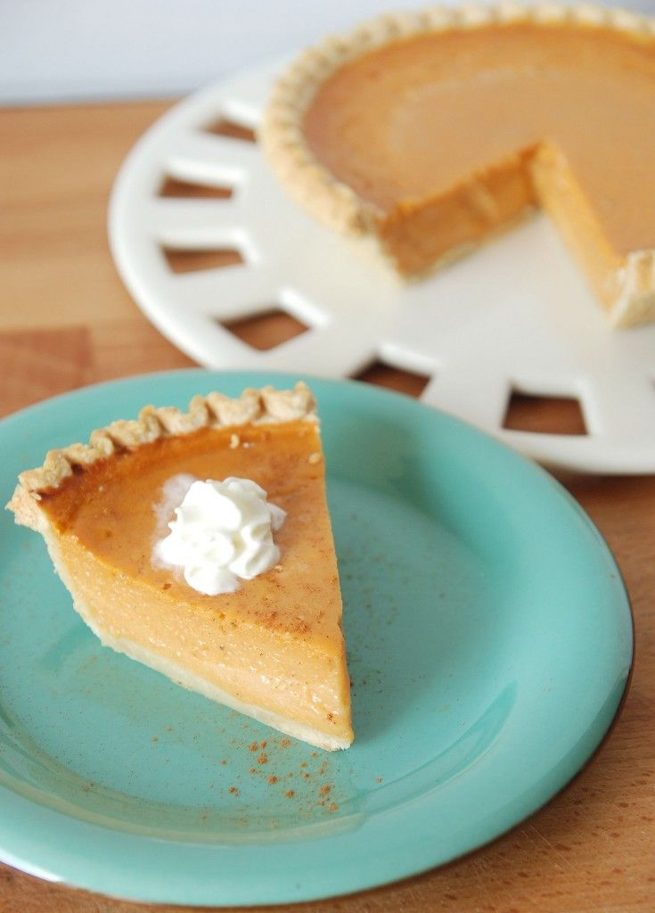 Sweet Potato Buttermilk Pie via @The Novice Chef Blog {Jessica}