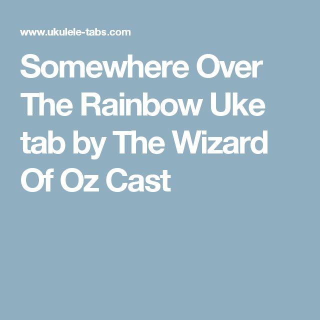 Learn These Somewhere Over The Rainbow Ukulele Karaoke {Swypeout}