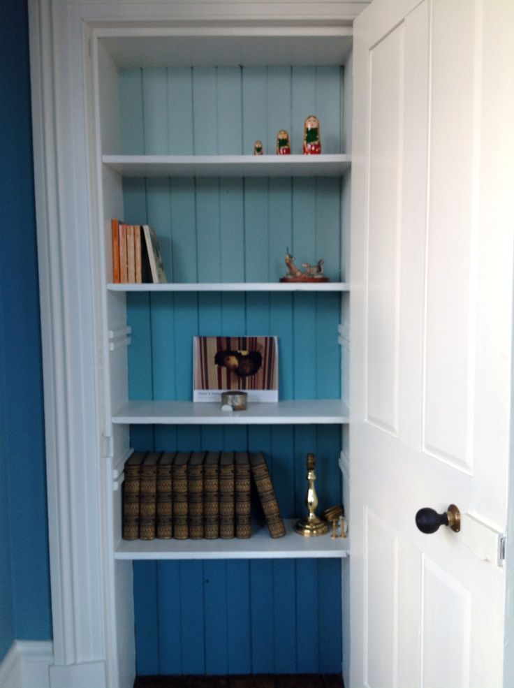 Cupboard Love - graded paintwork - Farrow and Ball - Stone ...