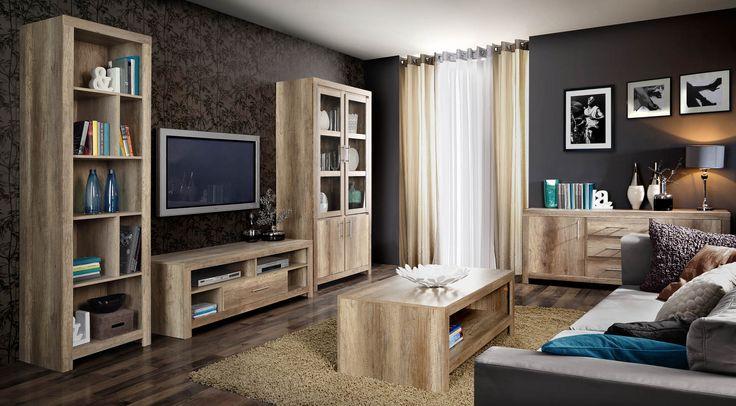 Salon urządzony z meblami Forte Imola - http://www.forte.com.pl/pl