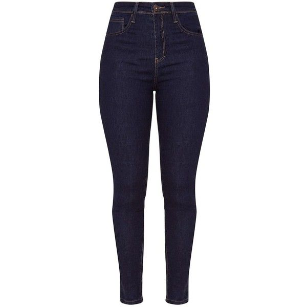 5 Pocket Indigo Skinny Jean ($35) ❤ liked on Polyvore featuring jeans, bottoms, denim skinny jeans, skinny jeans, khaki skinny jeans, 5 pocket jeans and blue jeans