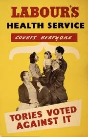 Labour Party Poster about the NHS