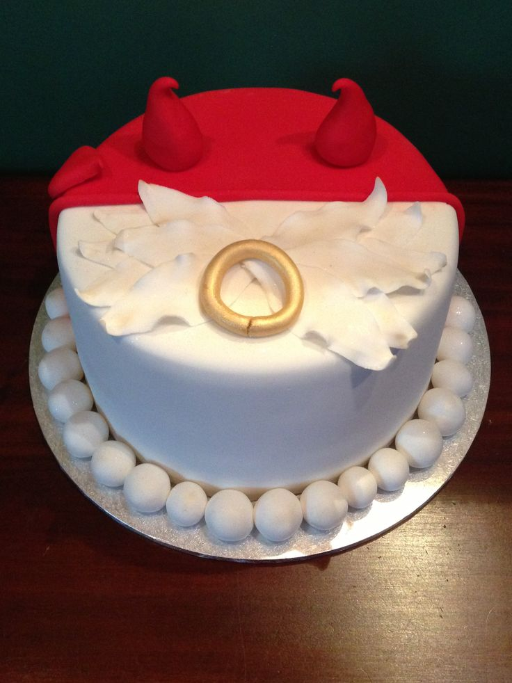 Angel Devil Cake