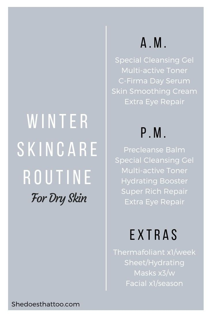 Winter Skincare Routine Dry Skin Edition Shedoesthattoo Winter Skin Care Routine Winter Skin Care Proper Skin Care Routine