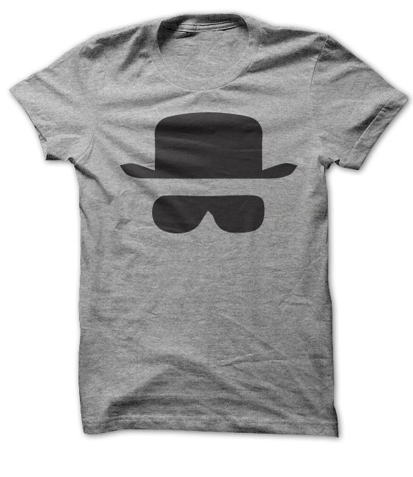 View images & photos of Heisenberg Hat and Glasses t-shirts & hoodies