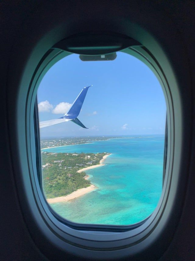 Itap Of Nassau Bahamas From A Plane Window Itookapicture