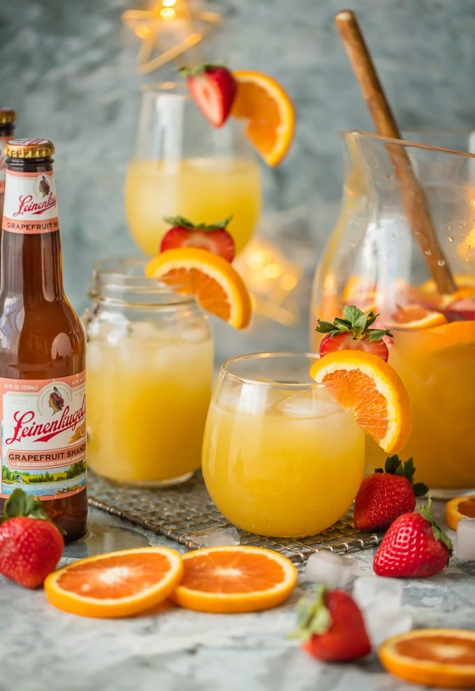 I love finding fun ways to mix up holiday cocktails with beer! #PintsandPlates has all the best beertail recipes and they are super easy to make! This Grapefruit Beer Sangria is the perfect way to impress your guests at your holiday get-together. Enjoy! INTENDED FOR 21+ #ad