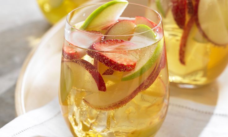 Apple Sangria...A little bit of summer and a little bit of fall.