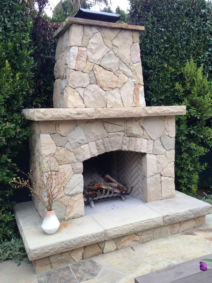 78 best Outdoor Fireplaces images on Pinterest   Outdoor ...