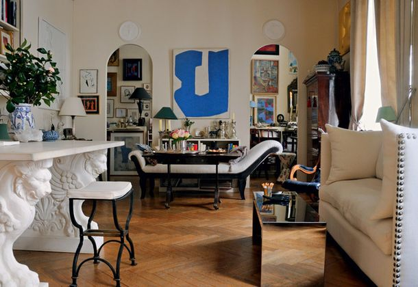 Парижская квартира с русским характером